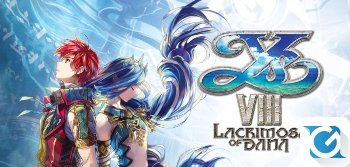 YS VIII: LACRIMOSA OF DANA arriva su Nintendo Switch in estate!